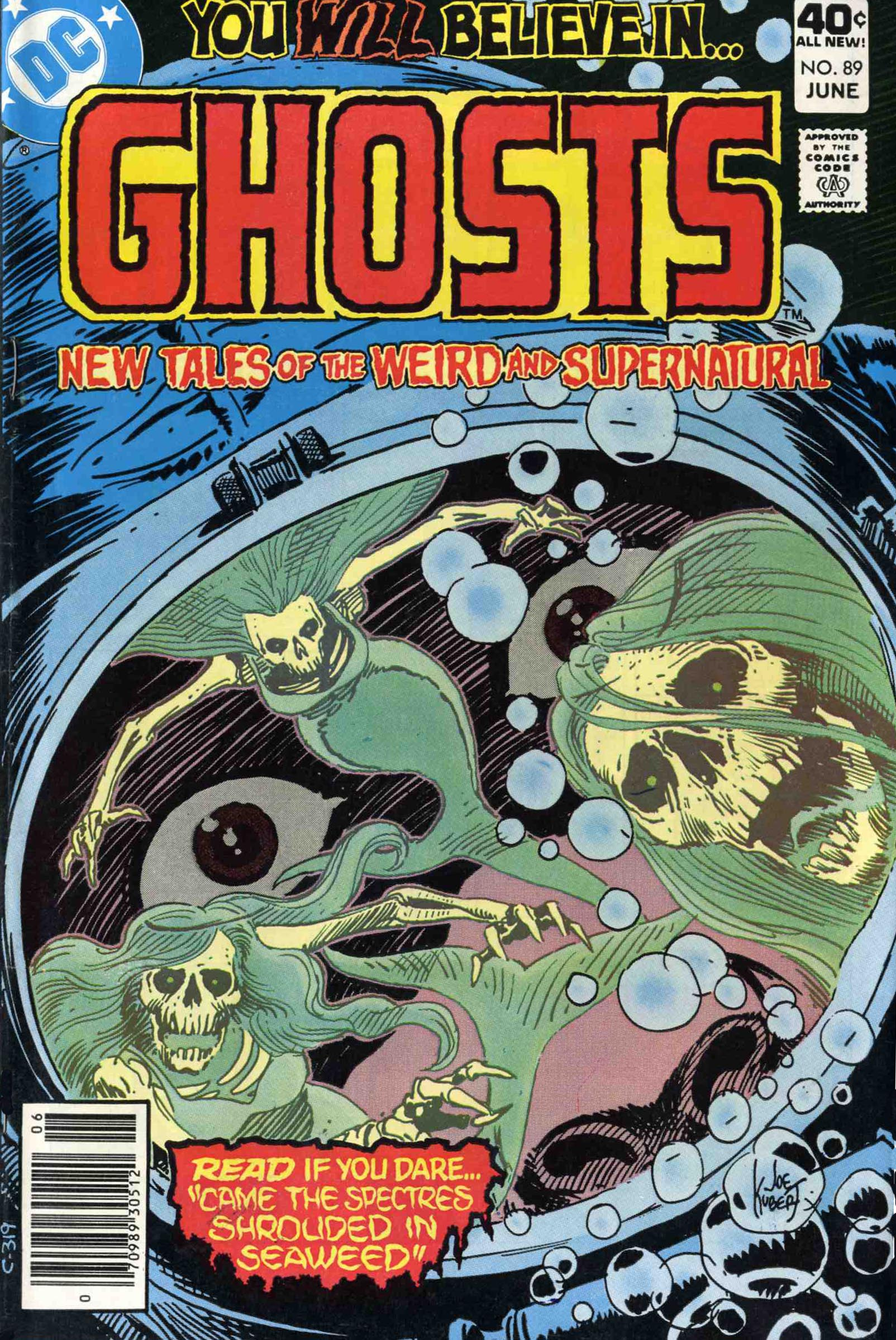 Read online Ghosts comic -  Issue #89 - 1
