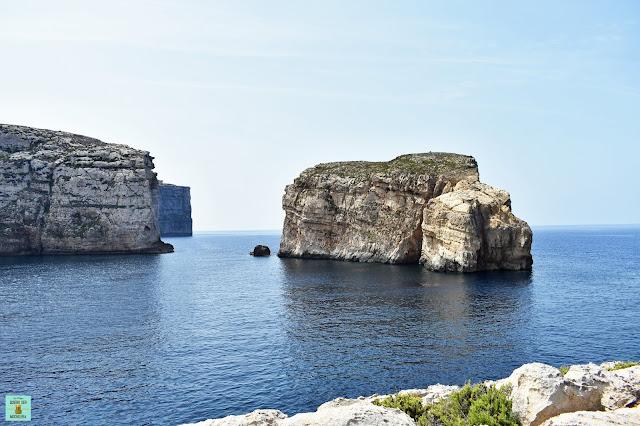 Fungus Rock, isla de Gozo (Malta)