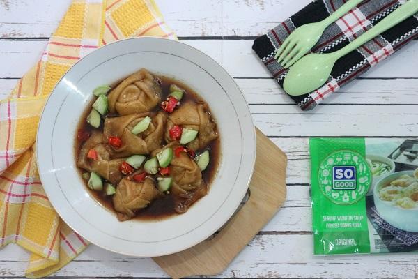 Resep cara membuat So Good Shrimp Wonton Kuah Cuko