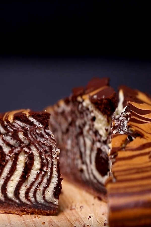 Zebra Oil Cake Recipe