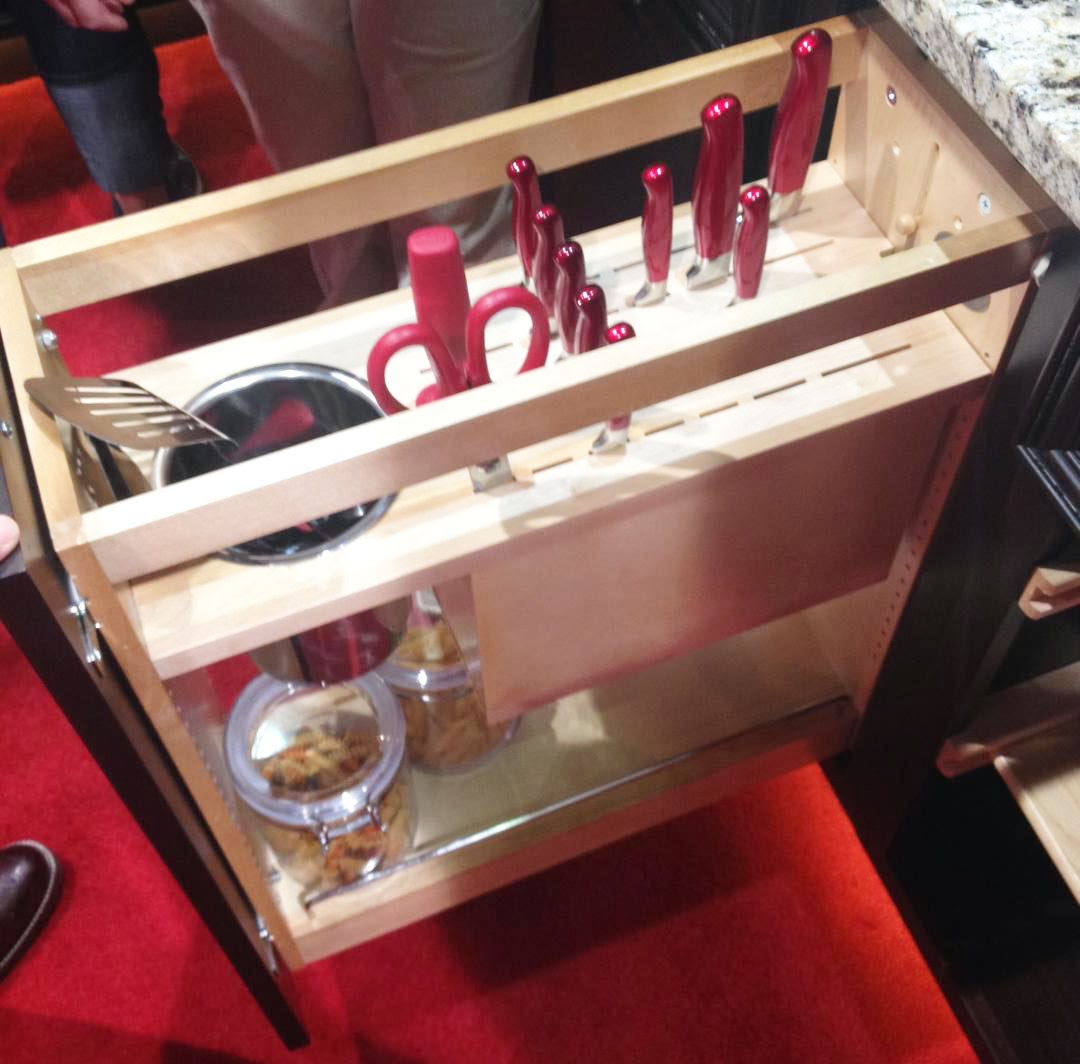 Lockable Knife Block The Cow Spot Kbis 2014