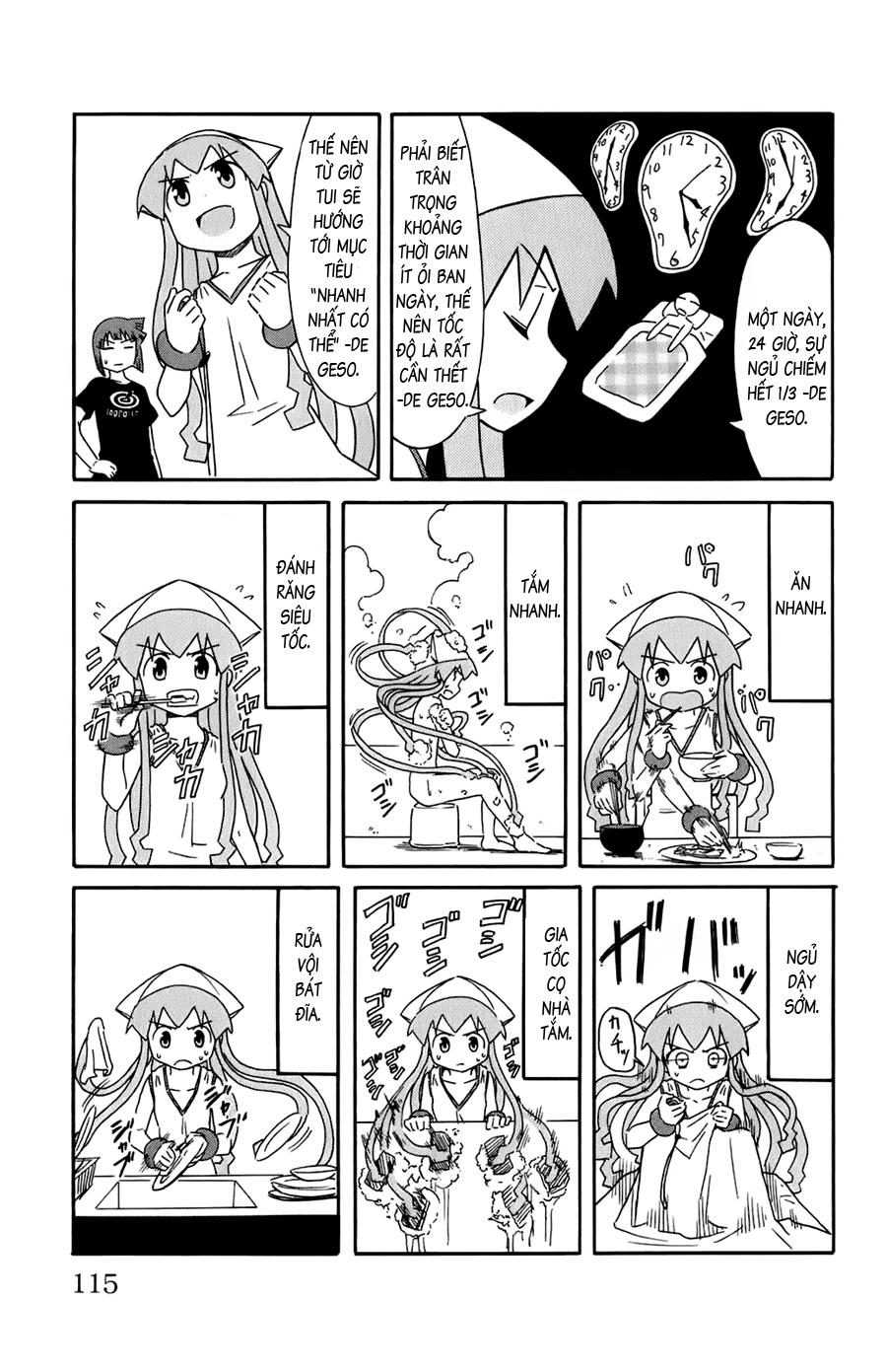 Shinryaku! Ika Musume Chap 109 - Truyen.Chap.VN