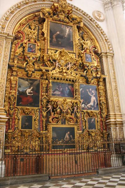 Resultado de imagen de retablo de jesus de nazaret de la catedral de granada