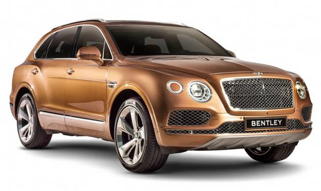 2017 Bentley Bentayga Details & Rendering