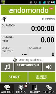 Endomondo sport tracker Android Applications For Health