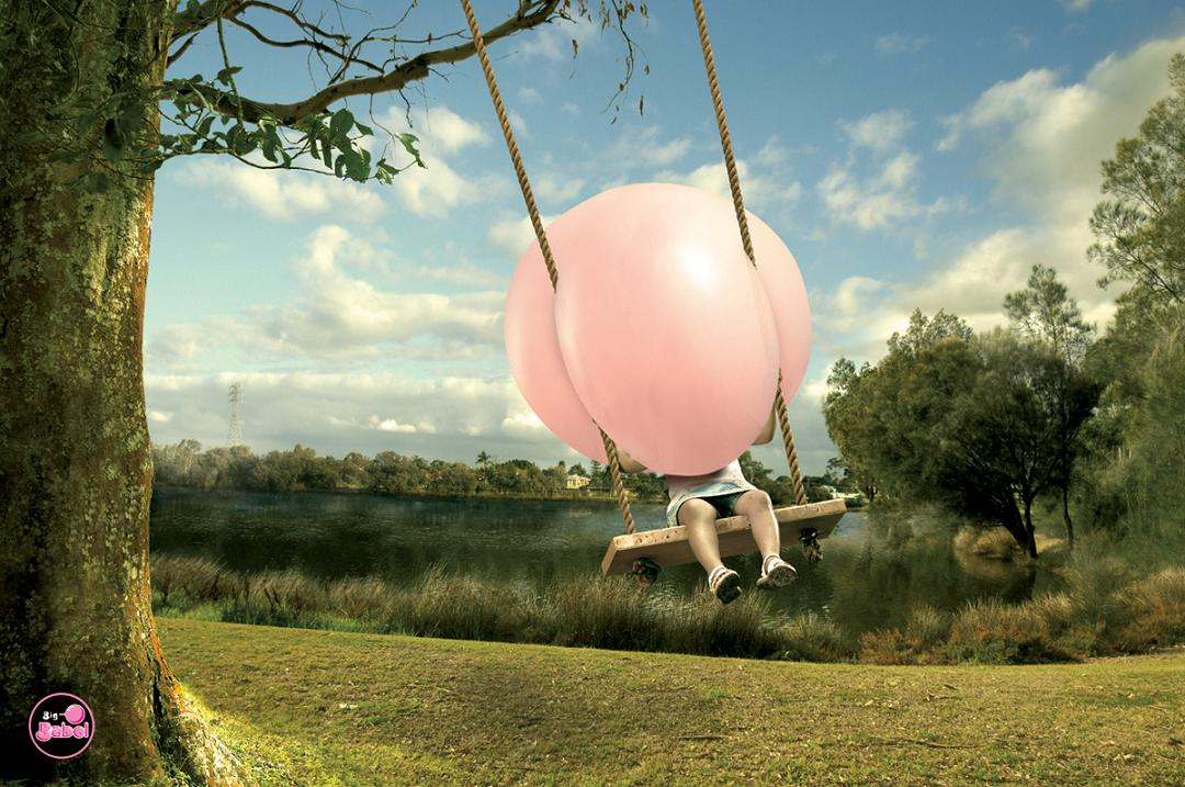 20 Creative And Clever Bubble Gum Ads