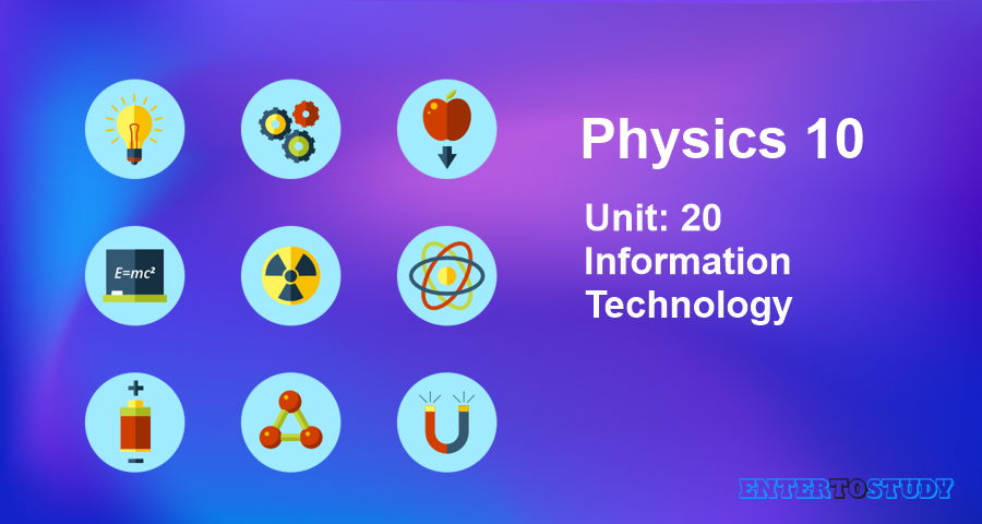 KIPS 10th Class Physics Notes Unit 20: Information Technology