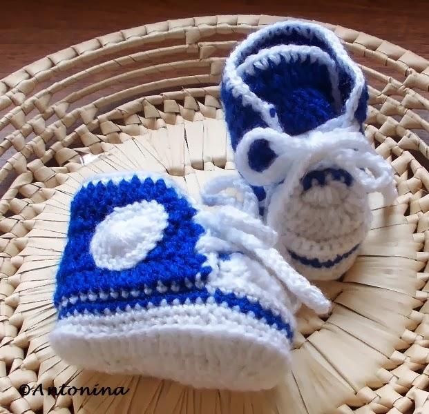 3d71bb9e U Antoniny: Jak wykonać trampeczki dla niemowlaka