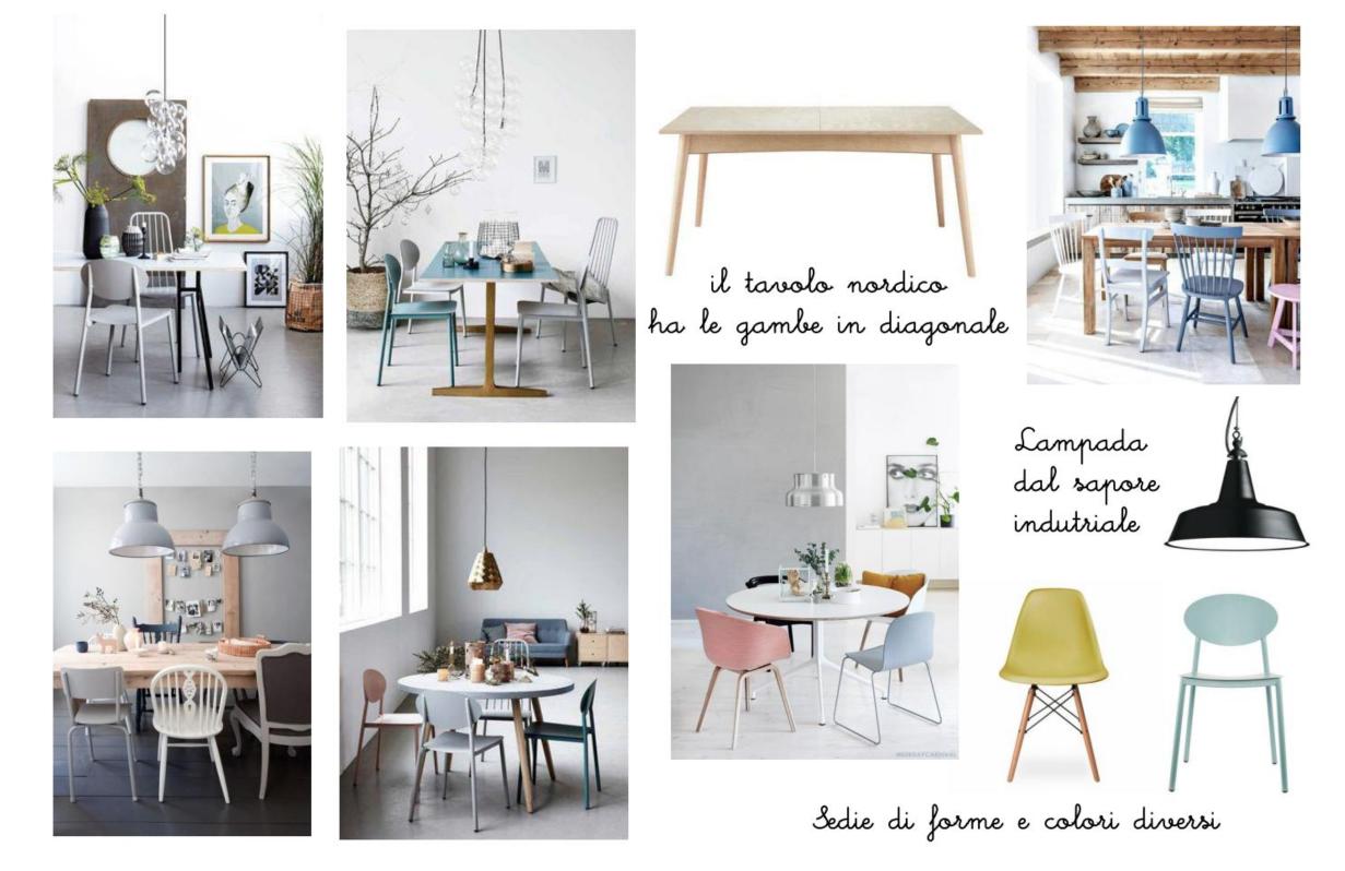 E-design shop: la zona giorno di un bilocale a Milano