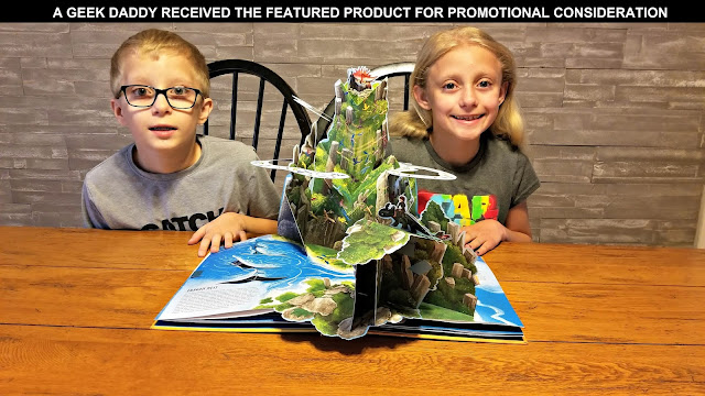 how to train your dragon pop up book