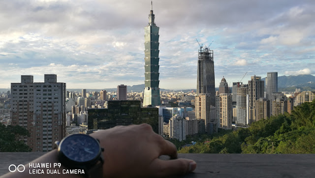 Timex Wristwatch with Taipei 101