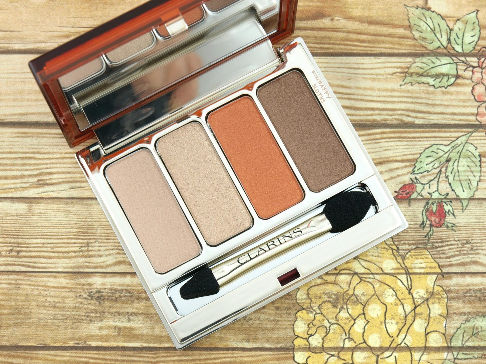 Clarins Summer 2017 4-Colour Eyeshadow Palette: Review and Swatches