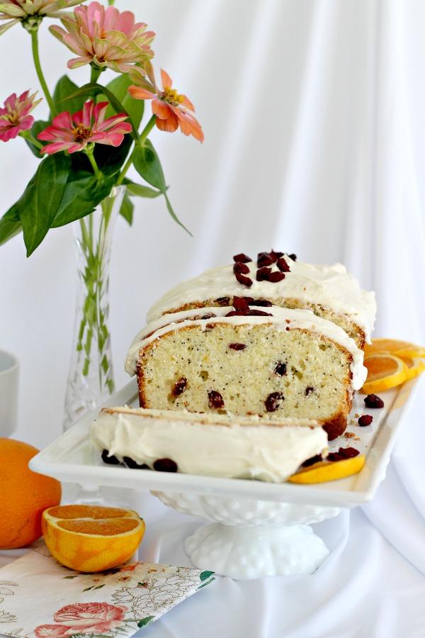 Orange Poppy Seed Tea Bread with Old Friends | Grateful Prayer | Thankful Heart