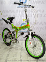 Sepeda Lipat United Quest C1,01 Suspension 20 Inci