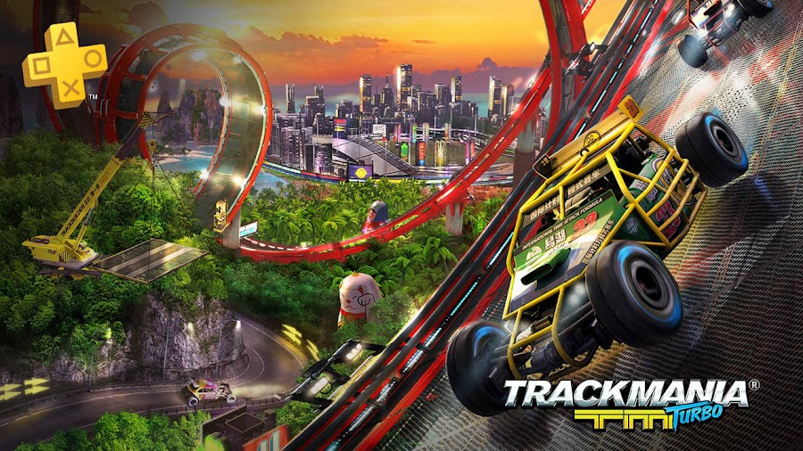 track mania turbo playstation plus