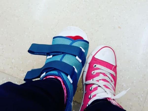 Broken Toe Update #2 & A Meltdown