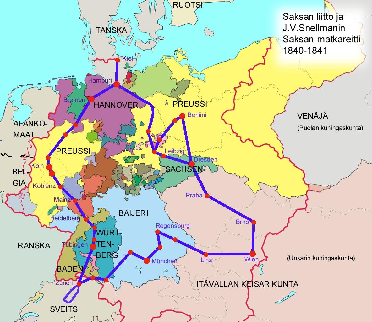 Joelin Kirjoituksia Ympari Keski Eurooppaa