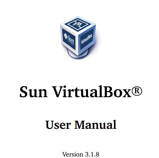 Sun VirtualBox User Manual