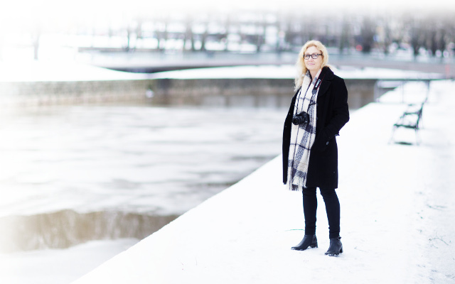 Anneli Auer in Turku