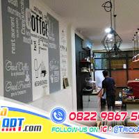 Harga Mural Dinding Cafe