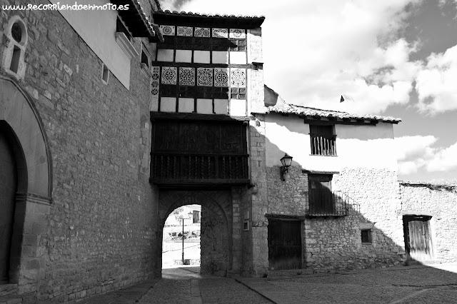 Puerta de las monjas, Mirambel, Teruel