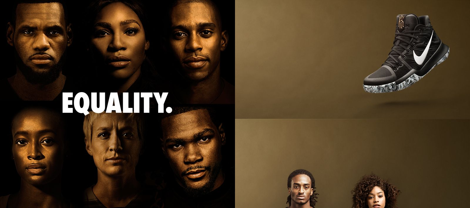 43d9aef24 #Equality is the brand new campaign by Nike, which encourages users to show  their support on social media by downloading the equality ...