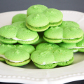 Shamrock Spritz Cookies