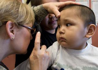 Image: Air Force nurse earns confidences of native Alaskan patients | Operation Arctic Care