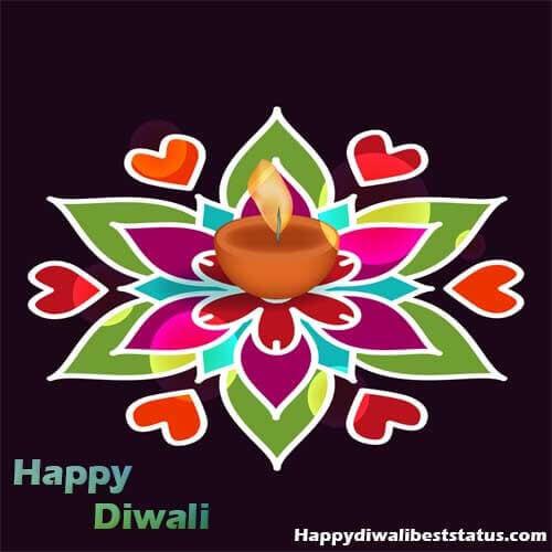 Small Rangoli Design For Diwali