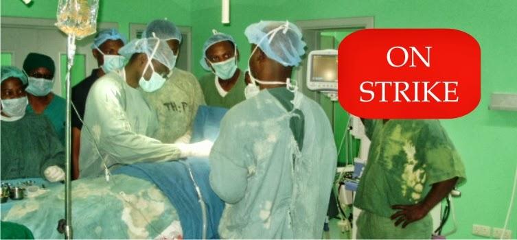 nigerian doctors on strike