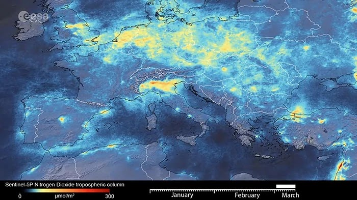 Pictures From Space Show Earth Cleaning Out After Coronavirus Outbreak
