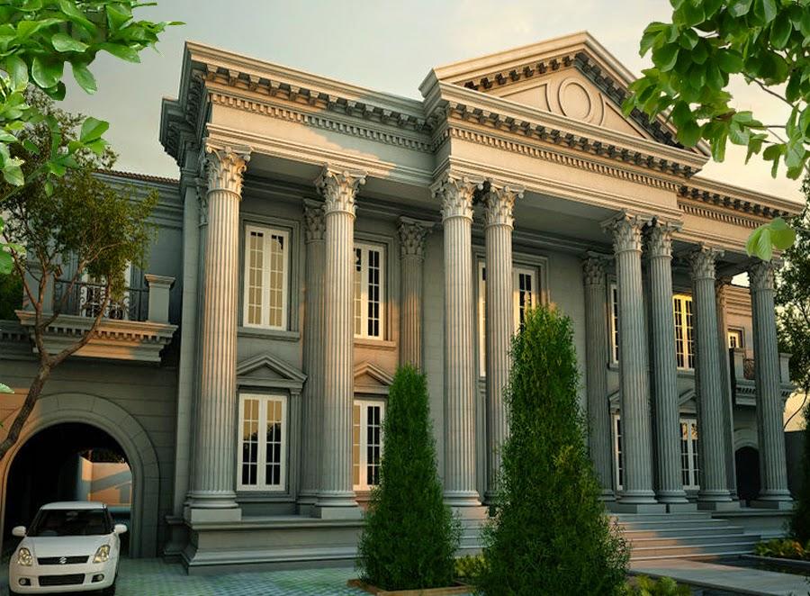 Gambar Rumah Klasik Terbaru   Rumah Minimalis