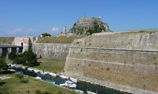 Vieja Fortificación Veneciana o Palaio Phrourio de Corfú.