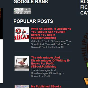 POPULAR FICTION EBOOKS EBOOK