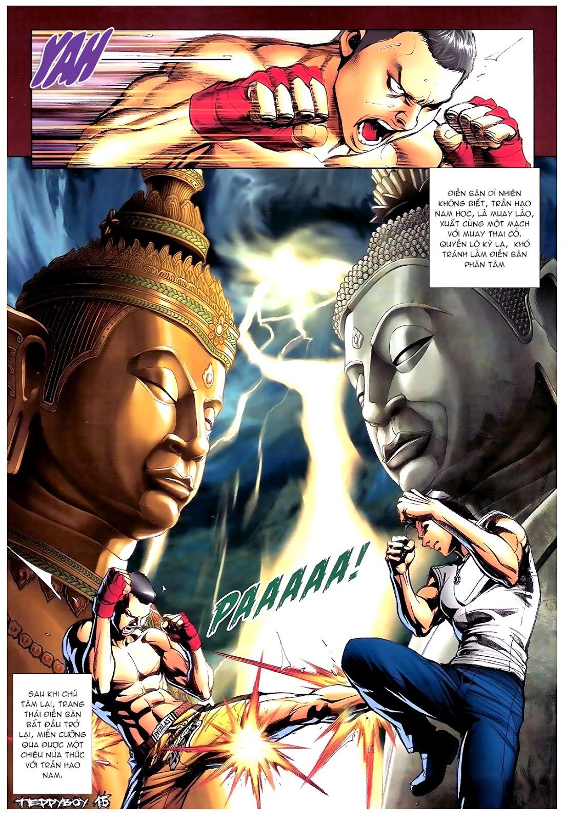 Người Trong Giang Hồ - Chapter 1387: Hạo Nam vs Điền Bân - Pic 13