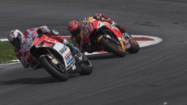 Jelang MotoGP Austria, Marquez Masih Terbayang Kekalahan di Tikungan Terakhir