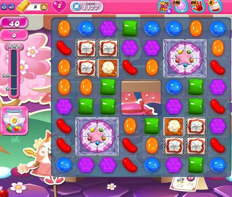 Candy Crush Saga 1177
