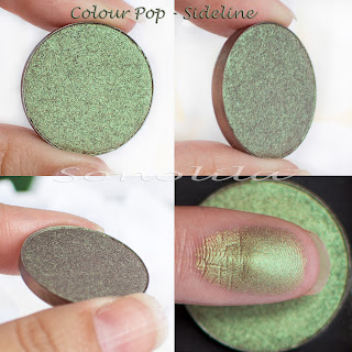 Sideline  - Pressed Eyeshadow Colour Pop