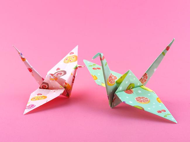 Omiyage Blogs: Make: Origami Cranes