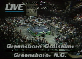 NWA CLASH OF THE CHAMPIONS 1 - 1988: Live at the Greensboro Coliseum, Greensboro, North Carolina