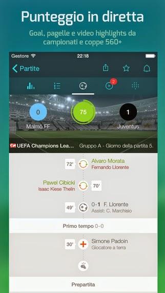 Forza Football - Risultati in Diretta Calcio (Live Score Addicts) vers 5.3.7