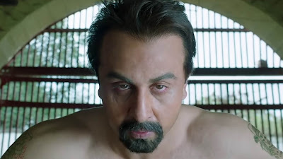 sanju movie ranbir kapoor look