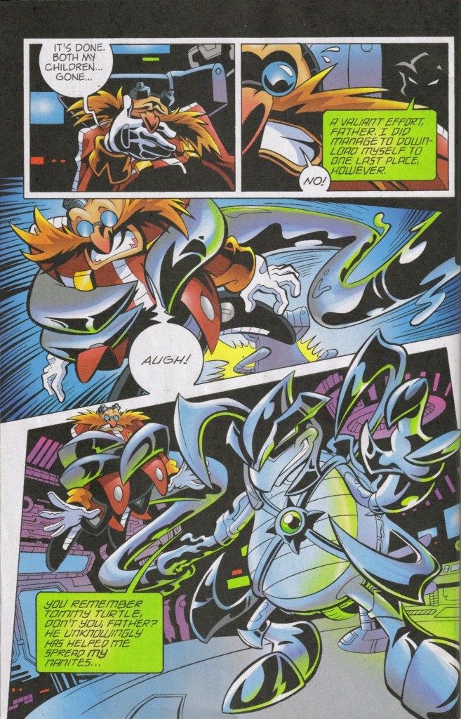 Read online Sonic The Hedgehog comic -  Issue #168 - 9