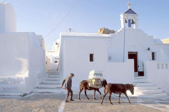 Island of Anafi Cyclades Greece
