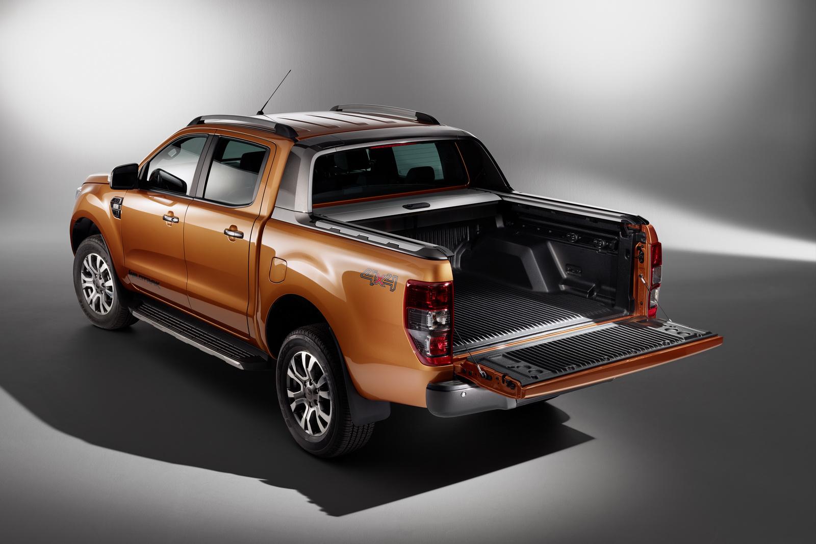 ford ranger   body  frame carscoops