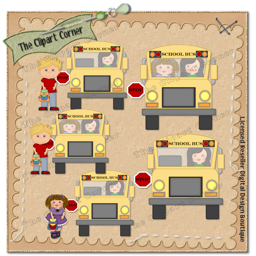 back to school bus clipart - photo #21