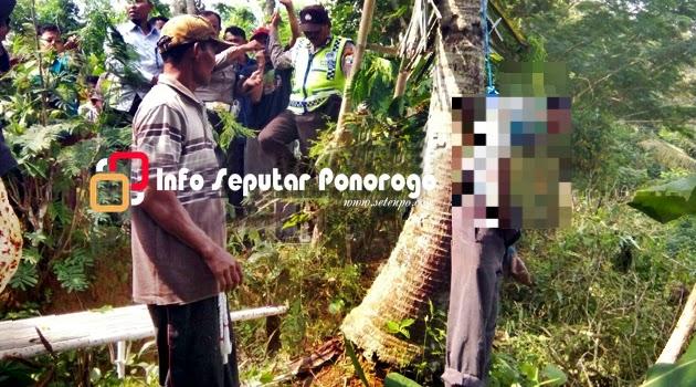 Warga Tumpakpelem Sawoo Gantung Diri di Pohon Kelapa