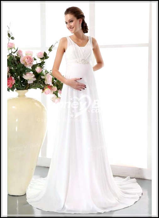 Wedding Gowns For Pregnant Brides 96 Simple