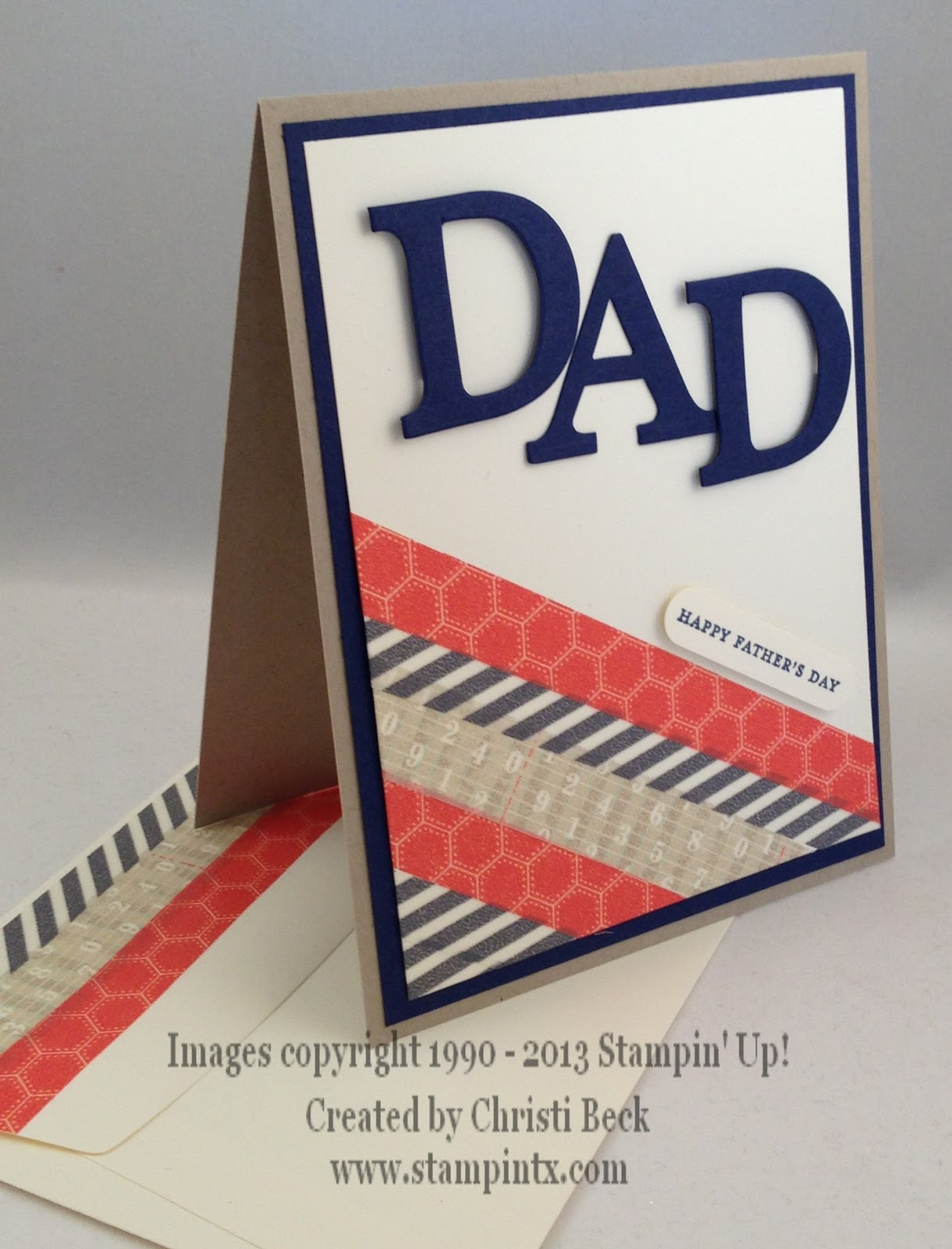 StampinTX: Father's Day Card Ideas
