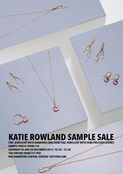 Katie Rowland Sample Sale December 2017